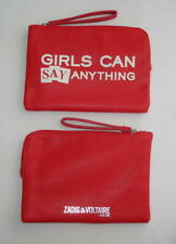 PARFUMS ZADIG ET VOLTAIRE POCHETTE TROUSSE GIRLS CAN SAY ANYTHING ROUGE