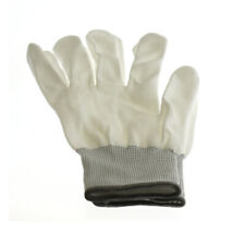 100 x Weiß Microfaser Handschuhe Schutzhandschuhe Elektronik Größe:10