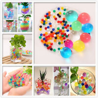Crystal Soil Water Jelly Ball Beads Orbeez Plant Flower Vase Table Home Decor AU