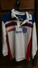 FCG Alpes Grenoble Rugby Union Home Shirt Jersey 2002-2003 Large Boys BNWT