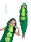 E2 Kids Adults Pea Pod Bean Costume Unisex Vegetable Funny Book Week Costumes
