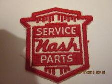 """Nash 40's - 50's Service Parts hat, jacket, shop coat patch 2 1/2"""" x 2 1/2"""""""