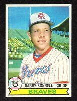 1979 Topps #496 Barry Bonnell Atlanta Braves Baseball Card NM+