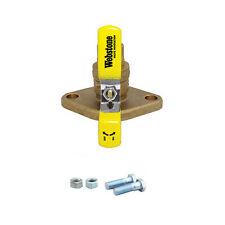 "Webstone 50405 1 1/4"" Sweat Isolator Forged Brass Uni-Flange Valve 23DF"
