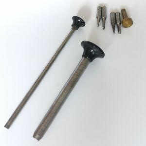 Lathe 6mm tailstock tool type Lorch et Schmidt - Watchmaker tool - tour horloger