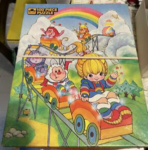 Golden 1983 Hallmark Cards Rainbow Brite 100 Piece Jigsaw Puzzle - Complete