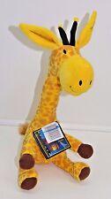 """Giraffe Steam Train Dream Train Plush Stuffed Animal Toy 12"""" Sewn Eyes NEW"""