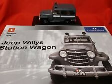 Willys Jeep + Atlas Police Collection 1:43 + mint boxed