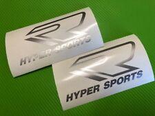 R Hyper Sports Logo Decal Sticker para bicicleta de carretera, raza, pista #200