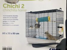 Chichi 2 Chinchilla Rat Cage 80x50x80cm RRP £171 Two Levels Collect From Cardiff