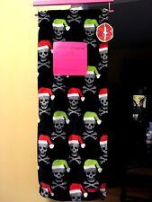 Betsey Johnson Santa Skull Blanket NWT