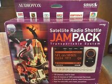 NIB- Audiovox JamPack SIR-CMB3 Sirius XM Satellite & FM Radio Receiver & Car Kit