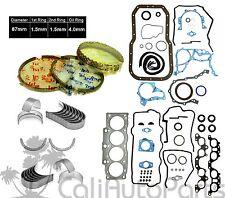 FITS: 90-95 TOYOTA MR2 CELICA 2.2L 5SFE FULL GASKET SET *ENGINE RE-RING KIT*