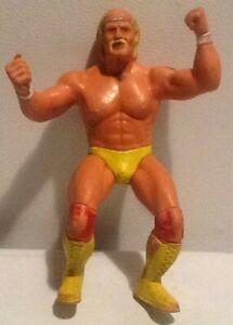 """WWF Wrestling Superstars Hulk Hogan 8"""" Figure LJN 1984 HEAVILY USED"""