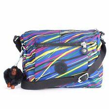 Kipling Wes Print Shoulder Bag Crossbody Streamers Print