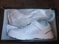 MENS ROCKPORT LEATHER SNEAKERS SIZE 12 WIDE
