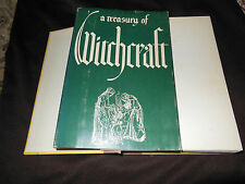 A TREASURY OF WITCHCRAFT 1ST EDITION (VERY RARE) BY HARRY WEDECK