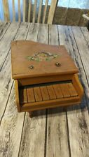 Vintage Celebrate Baby Grand Wooden Toy Piano