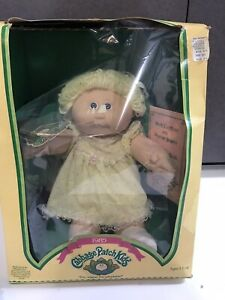 vtg new in orignial packing cabbage patch kids magnets 1983 cpk never opened