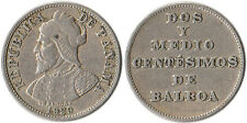 1929 Panama 2-1/2 Centesimos Coin Balboa KM#8