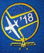 Eaa Experimental Aircraft Association Patch Airshow Oshkosh Wisconsin 2018