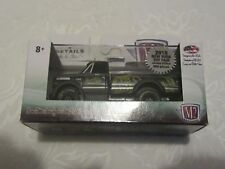 NY Toy Fair 2018 New York Exclusive M2 1970 Chevrolet C60 Truck Black Rims Bass