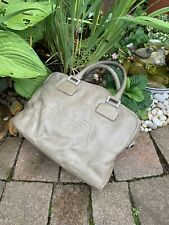 Emporio Armani Pebble Leather Tote Laptop Bag Handbag Restoration Project TLC