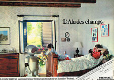PUBLICITE ADVERTISING 104  1982  TECHNAL   volets aluminium  (2pages)