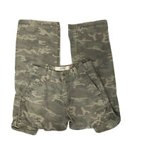 LEVIS CAMOUFLAGE CARGO LOOSE STRAIGHT PANTS MEN'S SIZE 30x30