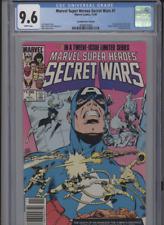 MARVEL SUPER HEROES SECRET WARS #7 NM 9.6 CGC HIGHEST 1 OF 5 GRADED CANADIAN PRI