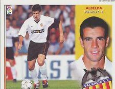 ALBELDA # ESPANA VALENCIA.CF LIGA 2003 ESTE STICKER CROMO