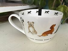 Large Portobello By Inspire Coffee Mug DOGS.NEW LOVE IS A FOUR LEGGED WORD