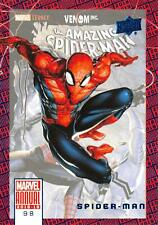 SPIDER-MAN / 2018-19 MARVEL ANNUAL BLUE PARALLEL Base Trading Card #98