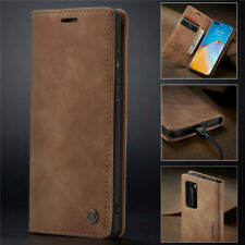 For Huawei P40 Pro P30 Lite P20 Magnetic Luxury Leather Wallet Case Flip Cover