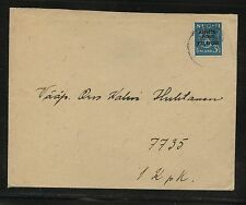 Finland  nice military  stamp on cover   local use            GC0421