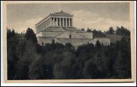 Donaustauf Bayern Postkarte ~1920/30 Walhalla ungelaufen alte Ansichtskarte
