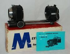 Vintage Extension Bellows Closeup Macro w/Slide Copier for Minolta SLR SR Mount