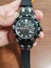Invicta 17879 Men's Pro Diver Black Rubber Swiss Parts Chronograph Diving Watch