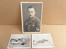 WW11 AIF  AUSTRALIAN - GERMAN LUFTWAFFE PHOTOS NORTH AFRICA  OBERGEFRIETER