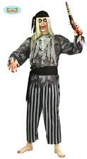 Zombie Pirat Kostüm Seeräuber Horror Halloween Herren one size