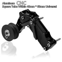 Motorcycle Automatic Chain Tensioner Aluminum CNC Black Universal Square Tube