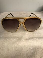 Vintage Alpina M1 Made In West Germany Sunglasses Gold  00004000