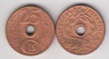 SPAIN ESPAÑA 25 Centimos 1938 copper, civil war, almost BU, quality