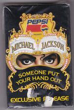 Michael Jackson SOMEONE PUT YOUR Main Out Musique Cassette Neuf + neuf dans sa boîte