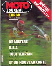 "MOTO JOURNAL N°567 JUILLET 82 ""650 YAMAHA XJT / 80 PUCH ENDURO 350 MERLIN TRIAL"""
