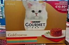 gourmet Gold gatto Tortini 24 pezzi da 85 grammi, gusti assortiti