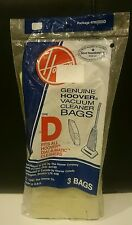 Genuine HOOVER Vacuum Bag Dial - A - Matic Style D   #4010005D  3 pack  NEW!
