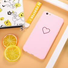 For iPhone 8 X 6s 7 Plus Cute Glossy Ultra Slim Soft Rubber TPU Back Case Cover