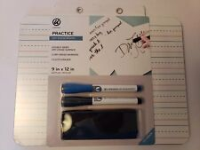 U Brands Practice Dry Erase Board. 9 in x 12 in. Double Sided. New/Sealed