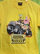 Spongebob Squarepants Patrick Truckpants Four Wheelin 4X4 Truck T Shirt Changes